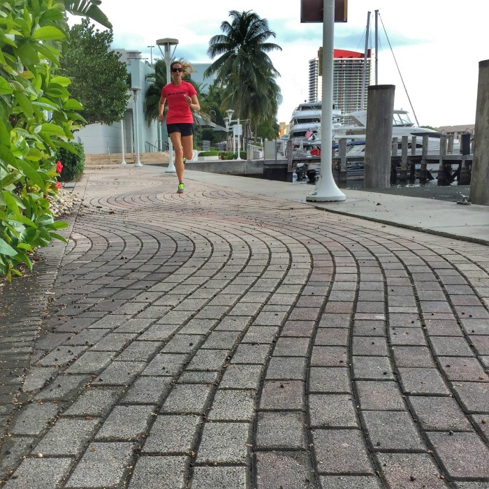 The difference between running at sea level and altitude