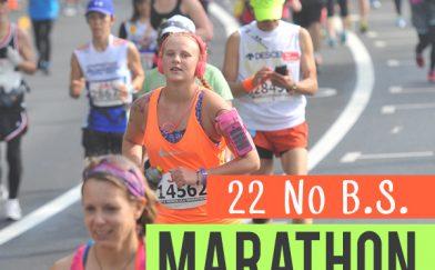 22 No BS Marathon Training Truths