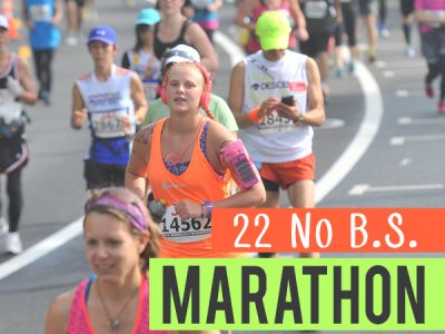 A funnier look at marathon training - the truths that not everyone will tell you, but we've all been there