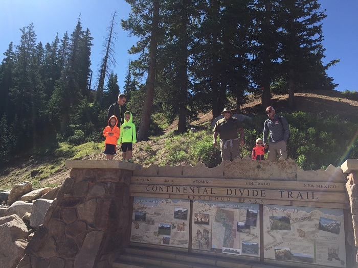 Hiking the Continental Divide as part of a summer in Winter Park