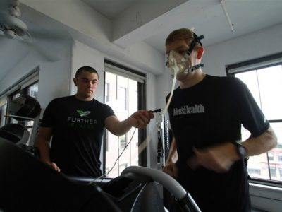 What it looks like to get a VO2Max test done
