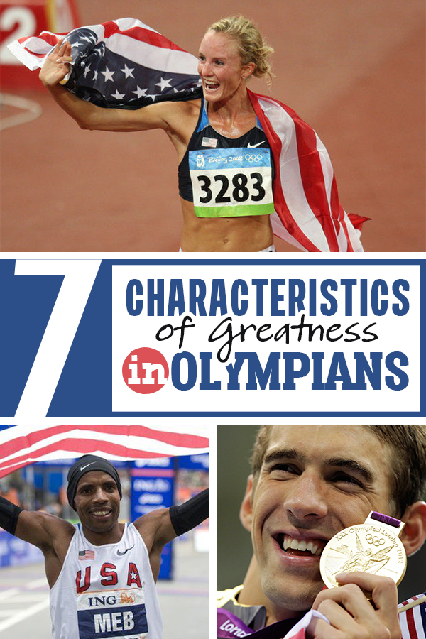 7 Characteristics of Olympic Winners that can propel you to greatness in your next race or event! Great motivation and mindset!