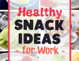 Healthy Snack Ideas for Work - Perfect balance of protein, fat and carbs to keep you fueled, satisfy the crunch or the sweet craving!
