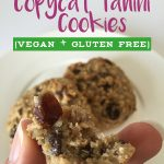 Copycat Vegan Flourless Whole Foods Tahini Cookie