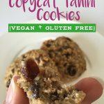 Copycat Vegan Flourless Whole Foods Tahini Cookie