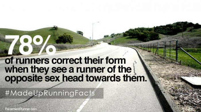 Funny running facts