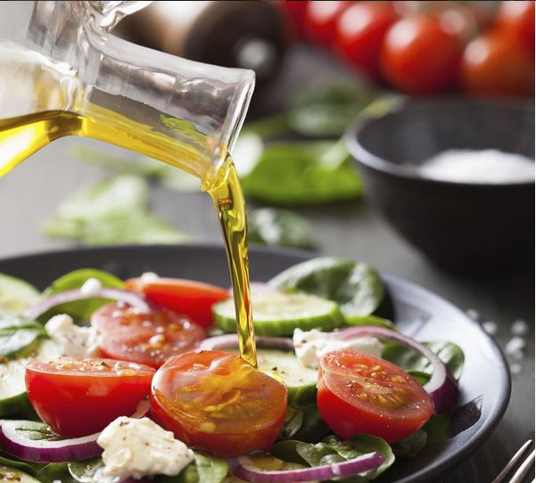 Health benefits of Olive Oil and Tomatoes