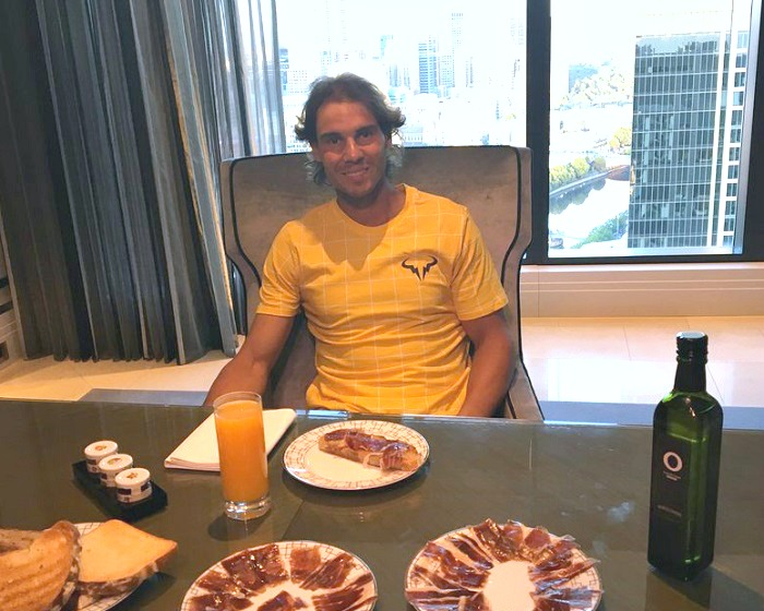 Why Rafael Nadal eats olive oil