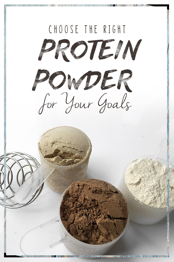 The best protein powder for women - click to learn about choosing the right protein powder for your goals