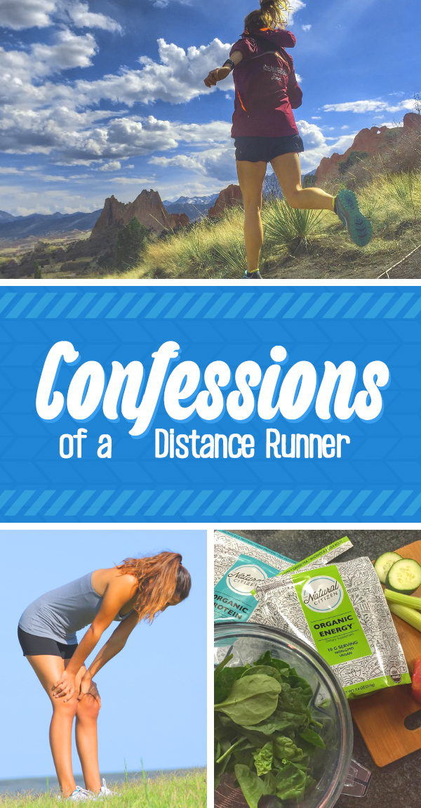 Confessions of a Distance Runner - high's low's and the funny of marathon running