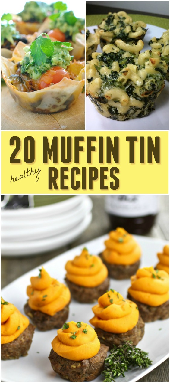 Quick healthy meal ideas - Savory Cupcakes, Muffin Tin Meals - Click for ideas to have more fun with bite sized food