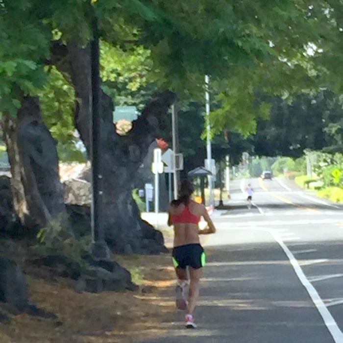 Desi Linden in Hawaii