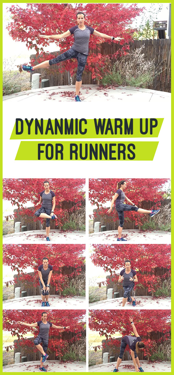 Dynamic Warm Up for Runners - dynamic stretches that improve mobilty, range of motion and endurance