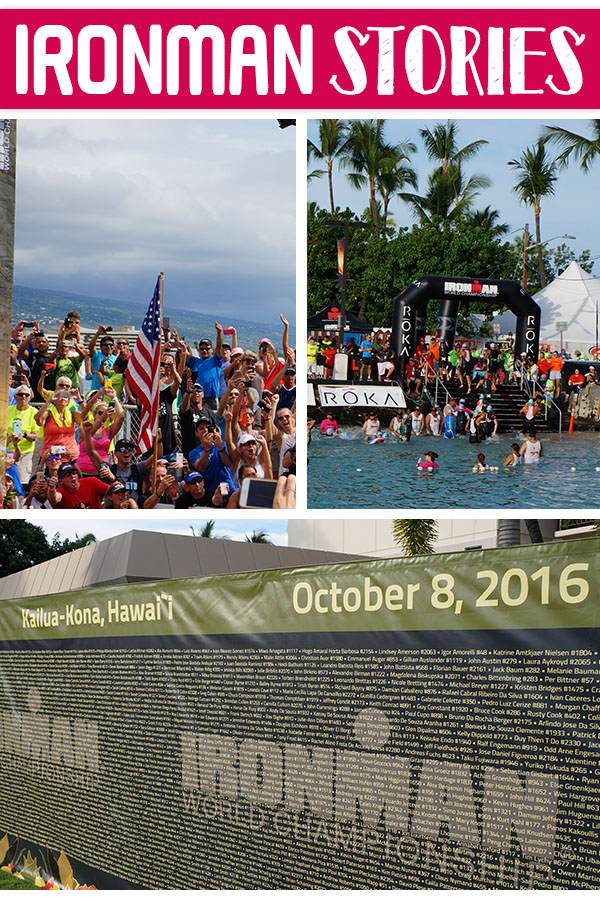 Need motivation? Checkout these inspiring stories from Ironman Kona