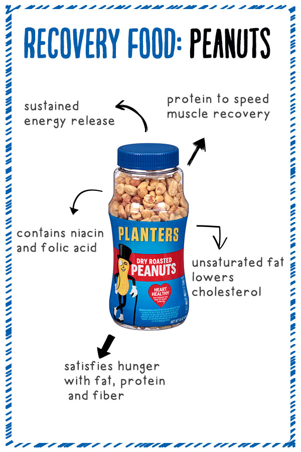 Why peanuts are the pefect recovery food