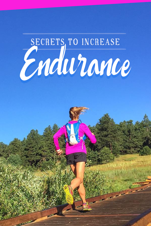Increase Running Endurance