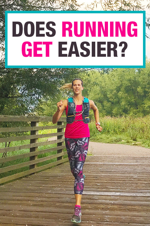 does running get easier