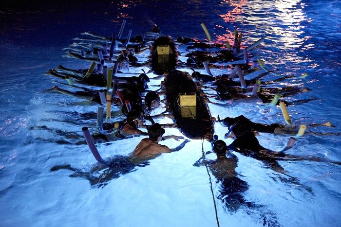 Swimming with Manta Rays in Kona Hawaii