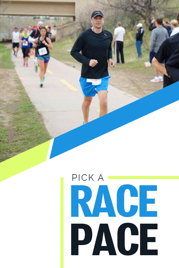 How to pick a goal race pace that will work for you