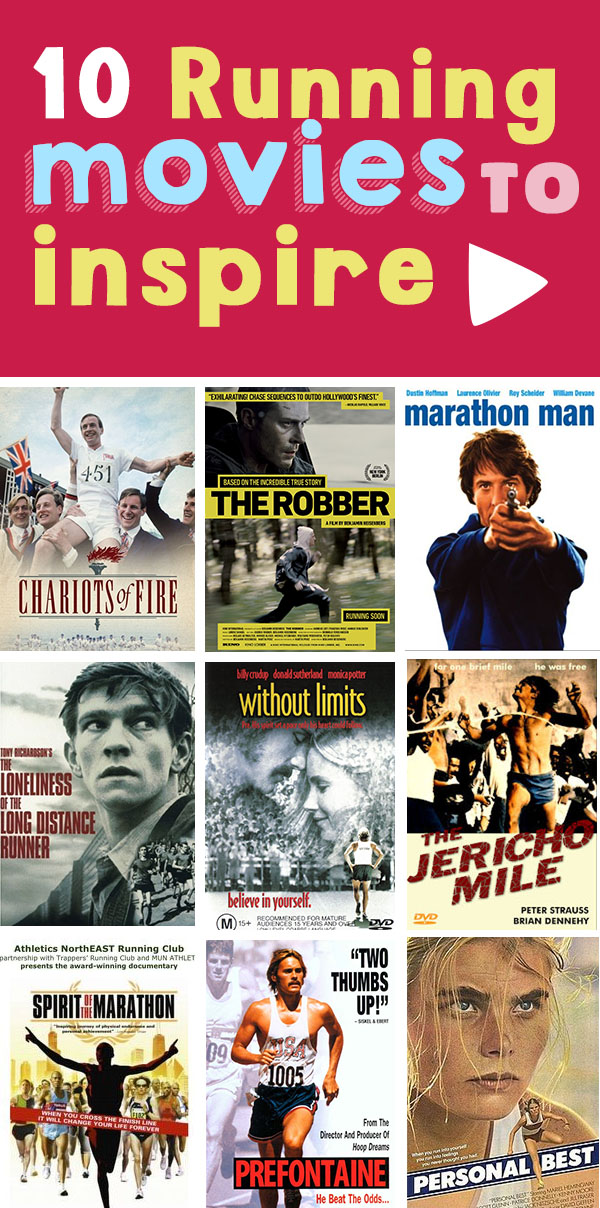 Top Running Movies to Inspire your training, especially through the winter