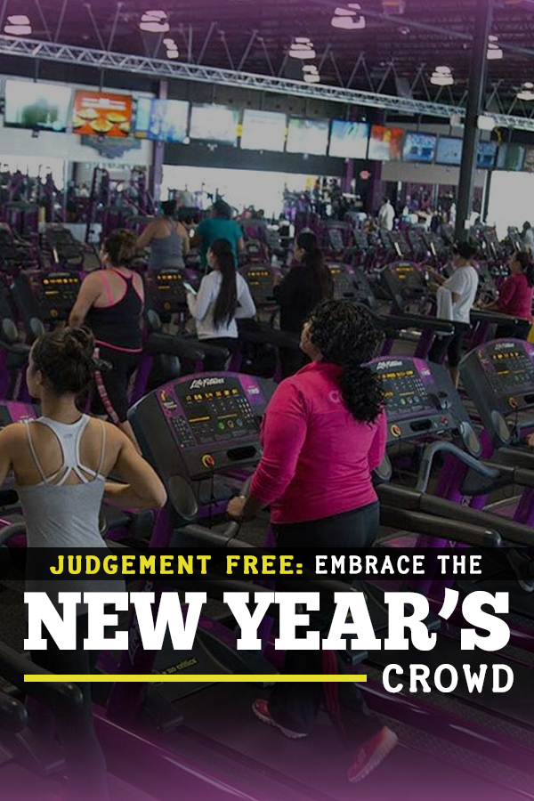 why we need to embrace the New Year's rush at the gym