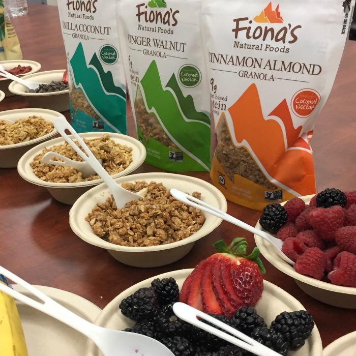 Fionas Gluten free granola