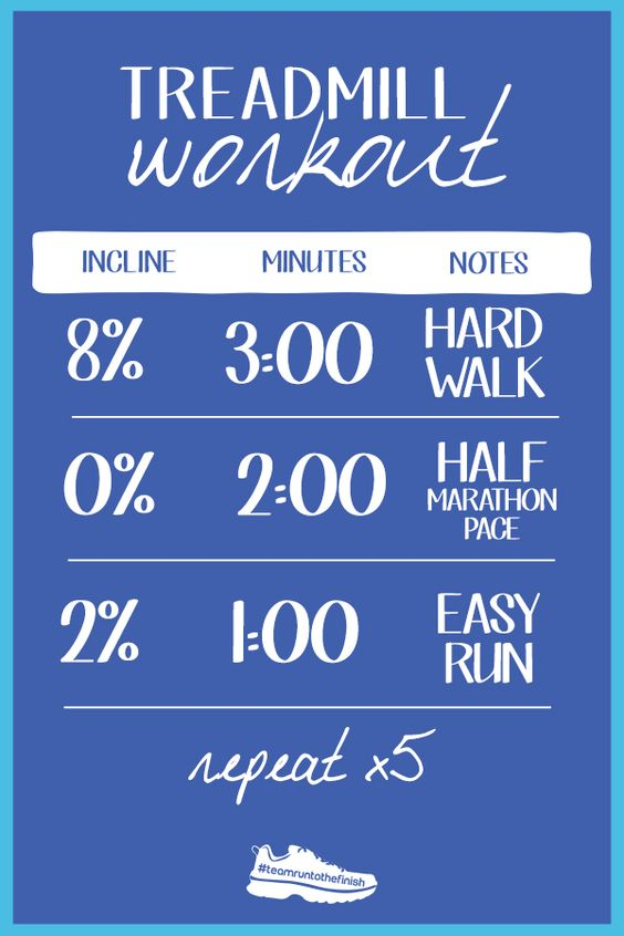 Treadmill workout to help beat boredom - click for more mind games for toug runs