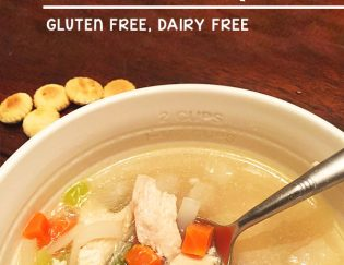 Easiest Healthy Chicken Soup - crockpot dinner recipe