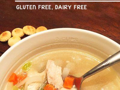Easiest Healthy Chicken Soup - crockpot dinner recipe