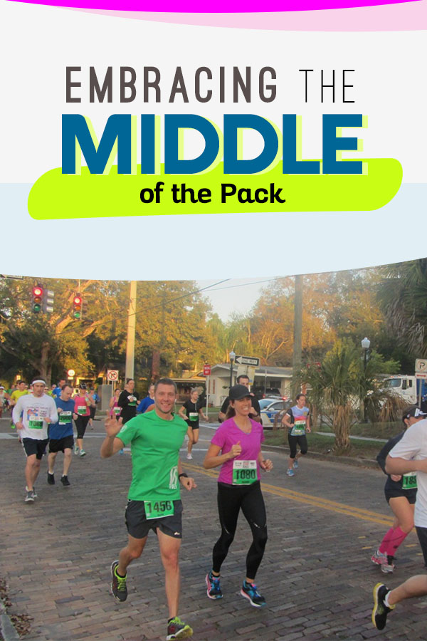 Embracing the Middle of the Pack Runners