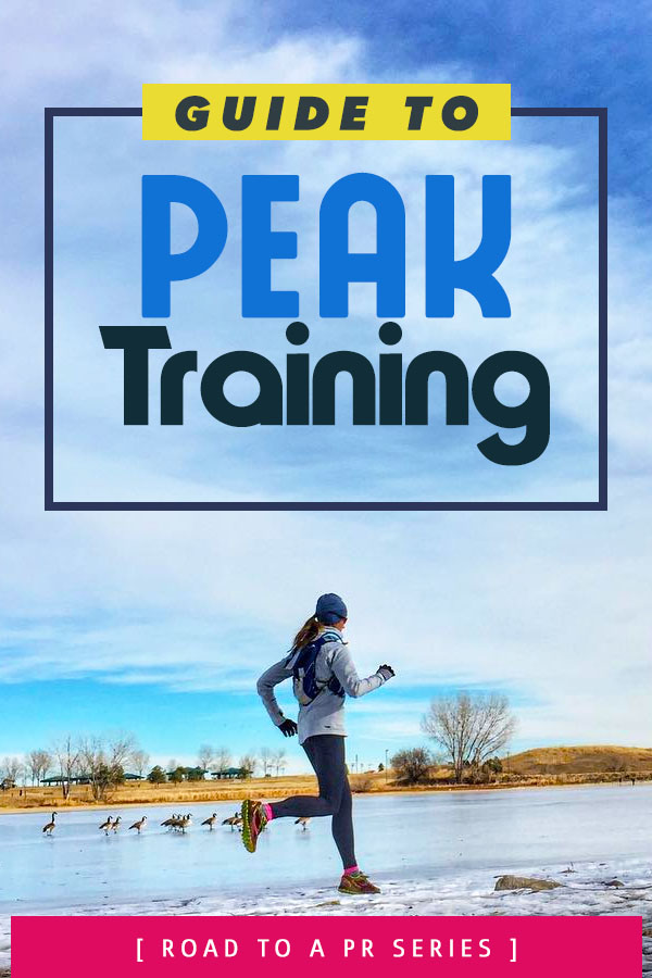 Marathon training peak week