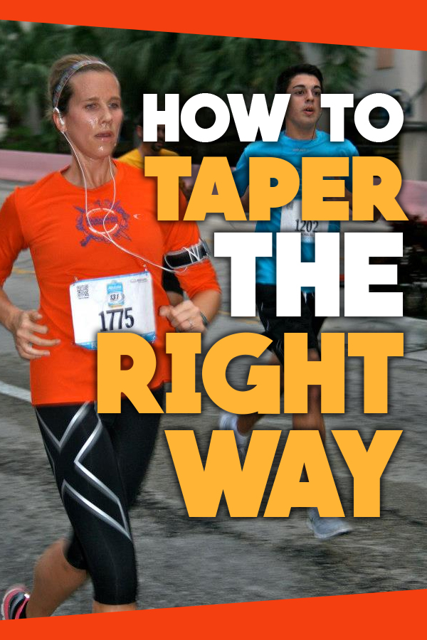How to taper the right way, avoid taper madness and last minute race prep