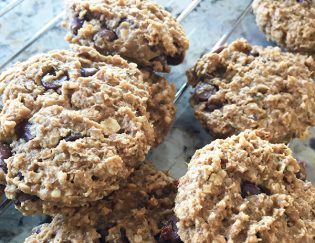 Homemade Energy Cookies - perfect running fuel or just a healthy cookie, dairy free and gluten free dessert