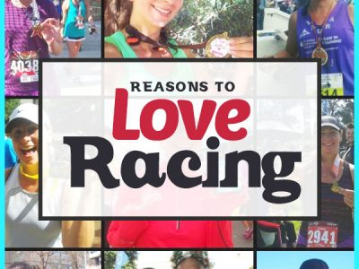 13 Reasons to love racing - helping to motivate you and get over some of the nerves