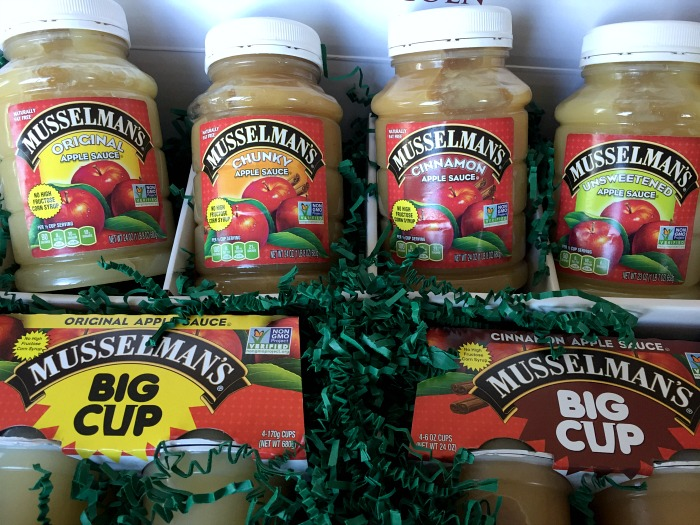 Full line of Musselman's Applesauce