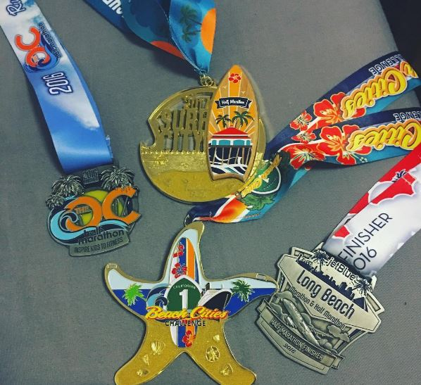 Race medals worth the entry fee