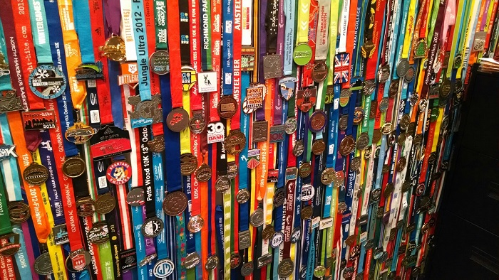 Reasons to run a race - including great race medals