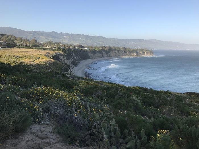 Running in Malibu