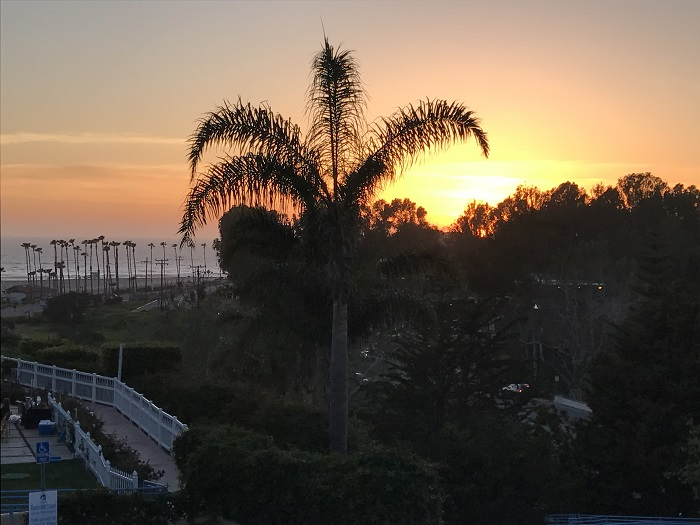 Malibu Country Inn Sunset