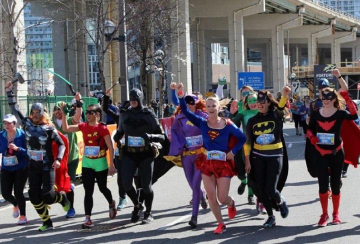 Super hero runners