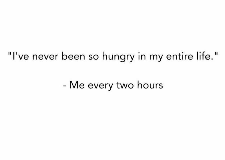 running hunger