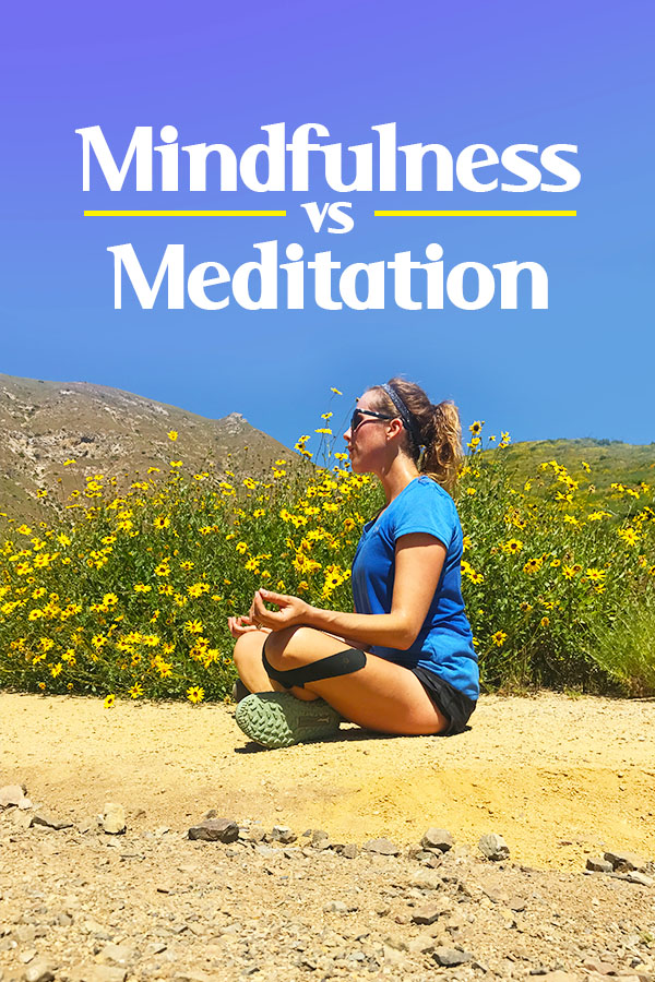 Mindfulness vs Meditation and how it can make you a better run, less stressed and more
