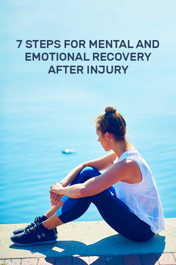 How to mentally and emotionally handle an injury - running injuries suck, here's how to handle it