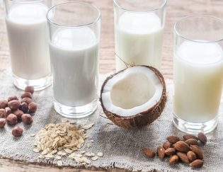 Diary free milk alternatives compared