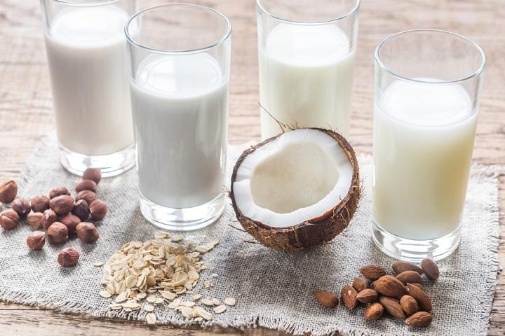 Diary free milk alternatives compared