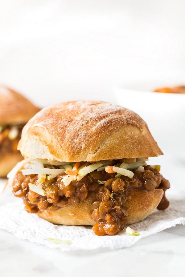 Vegan Sloppy Joes - Healthy Lighter Summer Crock pot meal ideas