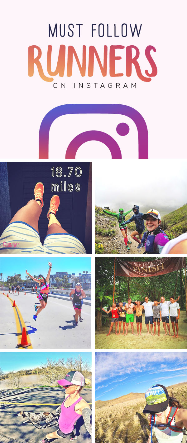 running instagram