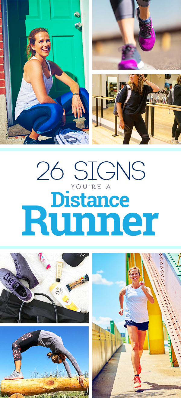 You know you're a distance runner when....