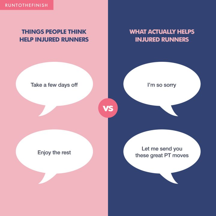 What Not to Say to an Injured Runner