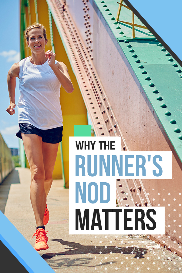 Why the Runners Nod Matters - how to support other runners